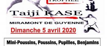 Tournoi annuel départementale de Karaté Miramont-de-Guyenne