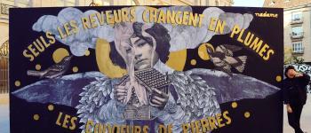 Street Art Bressuire - Madame Bressuire
