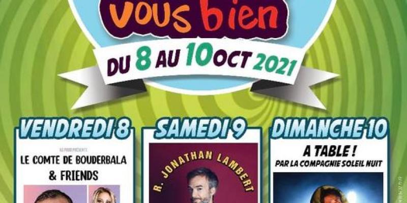 Festival humoristique Marais vous bien ! Les 10 ans