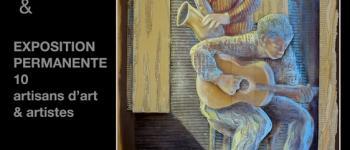 Exposition de la Galerie d\Art Associative de la Maison Aunac Nérac