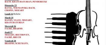 Concerts de l\Académie de Jeunes Solistes Mézin