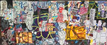Exposition de peintures et sculptures de \Formes et Couleurs\ Andernos-les-Bains