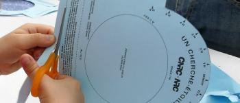Atelier fabrication carte du ciel tournante Audenge