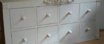 Atelier meuble en carton recyclé Gousse