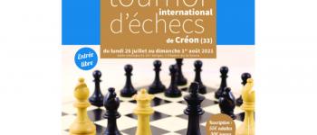 25ème Tournoi international d\échecs de Créon Créon