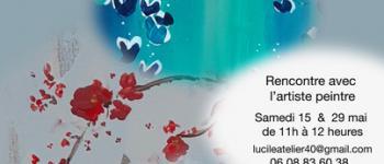 Exposition pêle-mêle lucile plancke delassus - peintures Bélus