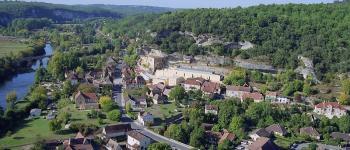 Démonstration vidéo mapping - Fête du Grand Site de France Les Eyzies
