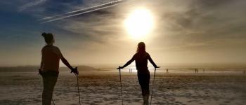 Nordic Yoga sur la plage Seignosse