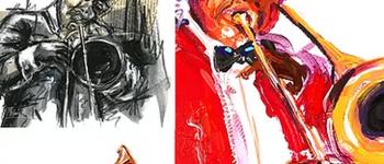 Jazz Pourpre : Vernissage exposition Melain Nzindou Bergerac