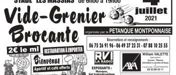 Vide-grenier-brocante Montpon-Ménestérol