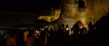 Visite nocture de l\abbatiale aux flambeaux Coly-Saint-Amand