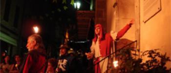 Janouille raconte les feux au Moyen-âge avec la troupe Cirque effiloché Monflanquin