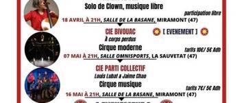 Bastid\Art - spectacle \Ginette Rebelle et son accordéon\ avec la compagnie \Virus\ Miramont-de-Guyenne