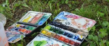 La semaine du paysage, balade - atelier. Croquer le paysage : le dessiner ! Chef-Boutonne