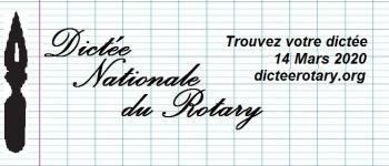 Dictée du Rotary Andernos-les-Bains