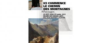 Exposition Ici commence le chemin des montagnes... paysages Pau