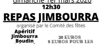 Repas Jimboura Monfaucon