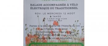 Balade accompagnée à vélo électrique ou traditionnel Casteljaloux