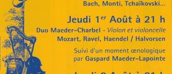Festival de musique : Duo Cabeceo Saint-Amand-de-Vergt