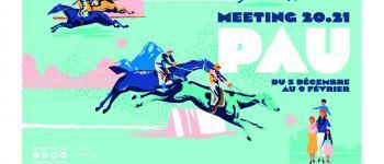 Courses Hippodrome de Pau - Meeting Hiver 2020/2021 Pau