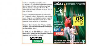Master Cesta Punta Pro Tour Pau