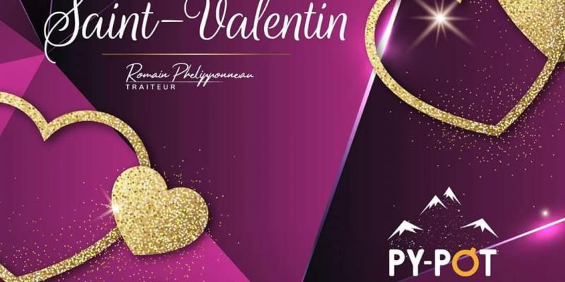 Votre menu Saint Valentin selon Py-Pot