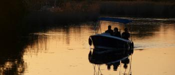 Bateau électrique sans permis : Sortie crépusculaire Le Teich