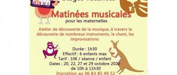 Matinées musicales pour les maternelles Gelos