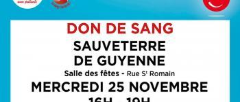 Don du sang Sauveterre-de-Guyenne