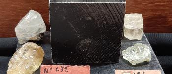 Exposition \Les minéraux du tungstène dans le monde et en Limousin\ Ambazac