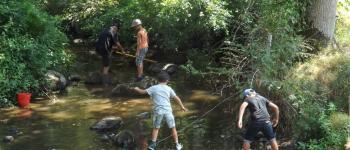 Découverte de la pêche aux écrevisses Saint-Sulpice-les-Feuilles