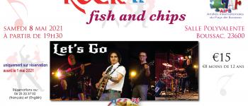 Soirée Rock n' Fish and chips Boussac