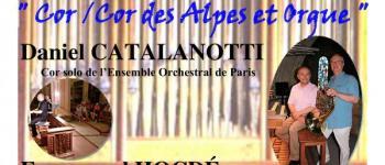 : concert  cor d' harmonie/cor des alpes et orgue Bort-les-orgues