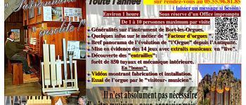 Visite guidée gratuite de l\orgue de l\église Bort-Les-Orgues