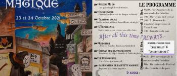 Festival escapade magique 2021 Biganos