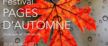 Festival Pages d\Automne Bordeaux